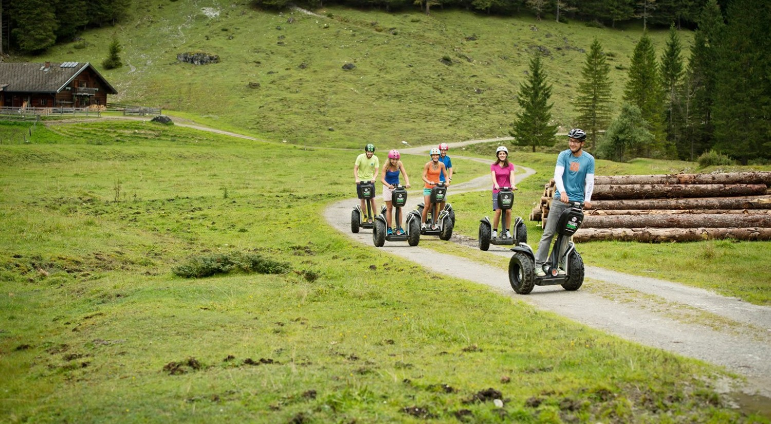 Segway Tour in die Marbach-Alm